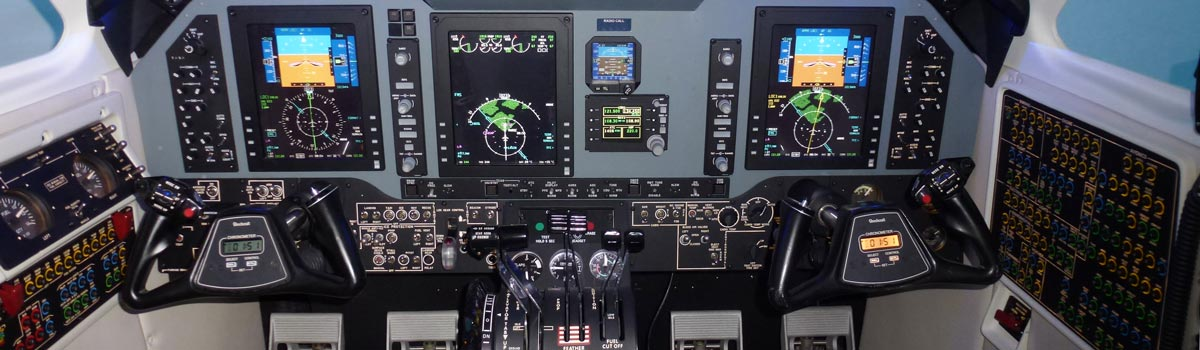 Beechcraft King Air Level 5 Simulator