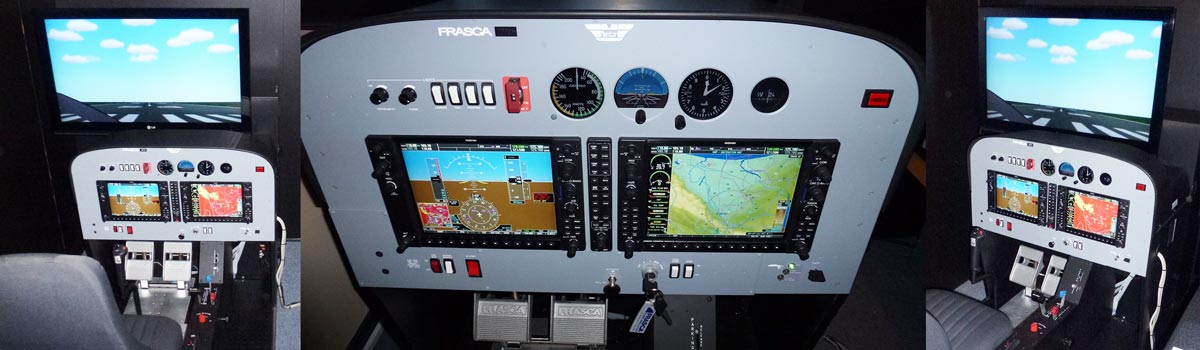 Frasca Mentor Diamond DA40 Device