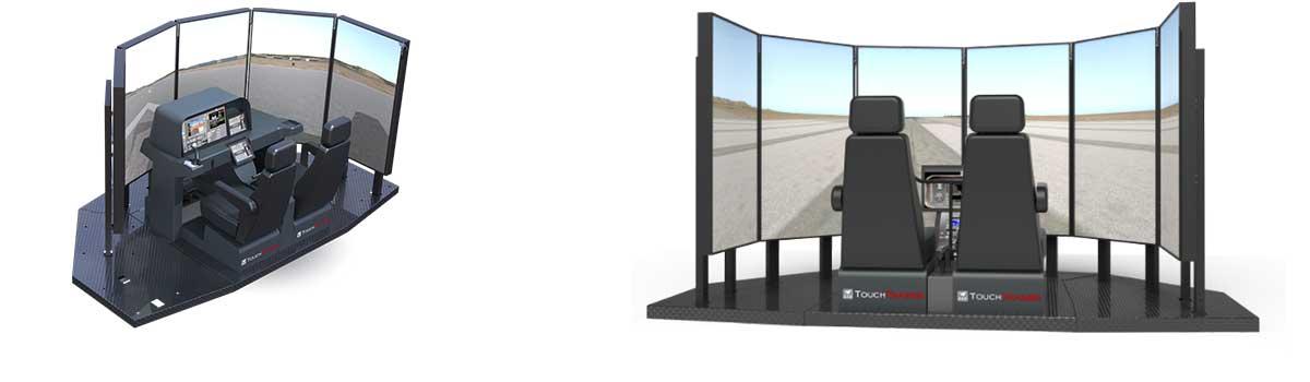Fly This Sim 210 Degree Visual System