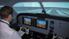 Frasca Beechcraft Baron 58 FTD - Installation - Perth